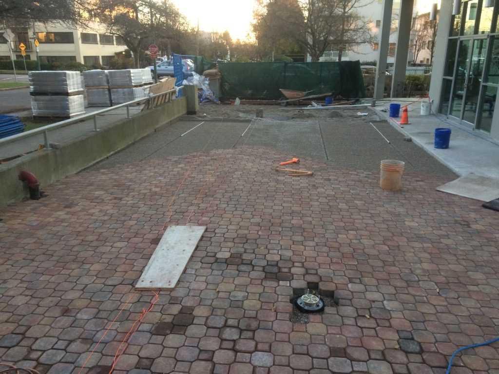Paving Stone Driveway